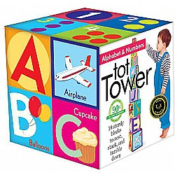Alphabet & Numbers Tot Tower