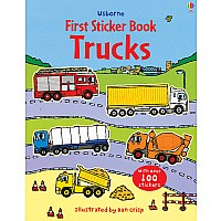 First Sticker Book- Trucks