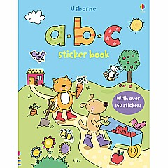 Sticker Book A B C