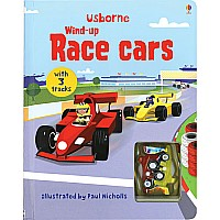 Wind-up Race Car Book