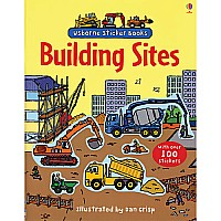 First Building Sites Sticker Book