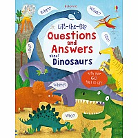 EDC Lift-The-Flap Q&A About Dinosaurs (Ir)