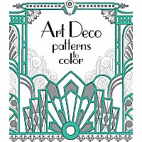 Art Deco Patterns To Color (Ir)