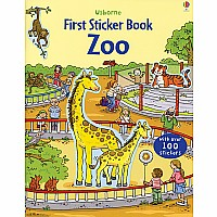First Sticker Book, Zoo