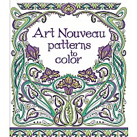 EDC Art Nouveau Patterns To Color (Ir)