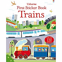 First Sticker Book- Trains