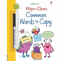 Wipe-Clean, Common Words To Copy
