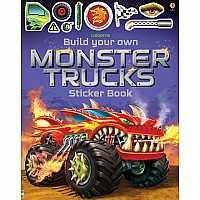 Build Your Own Monster Trucks Sticker Books