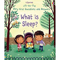 Lift-The-Flap Very First Q&A: What Is Sleep?