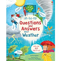 Lift-The-Flap Q&A About Weather (Ir)
