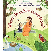 Lift-The-Flap First Q&A: Where Do Babies Come From?