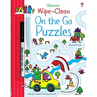 Wipe-Clean- On The Go Puzzles