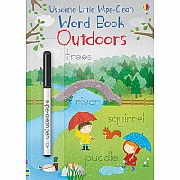 Little Wipe-Clean Word Book: Outdoors (Ir)