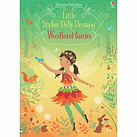 Little Sticker Dolly Dressing Woodland Fairies