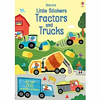 Little Stickers Tractors And Trucks
