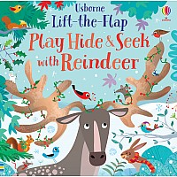 Lift-The-Flap Play Hide & Seek With Reindeer