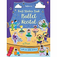 First Sticker Book, Ballet Recital (Ir)