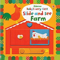 Baby's Very First Slide and See: Farm