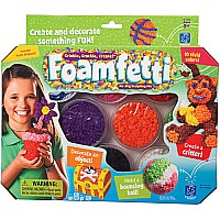 Foamfetti Air-Dry Sculpting Mix 10-Pack