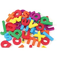 Multicolored Alphamagnets Lowercase (Set Of 42)