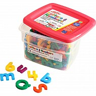 Alphamagnets & Mathmagnets - Multicolored (214 Pieces)