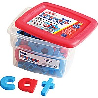 Jumbo Lowercase Alphamagnets Color Coded (set of 42)