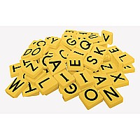 Magnetic Teaching Tiles  Uppercase