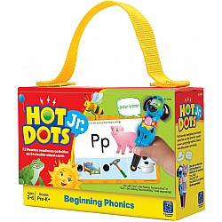 Hot Dots Jr. Card Set - Beginning Phonics