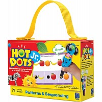 Hot Dots Jr Cards  Patterns  Sequenci