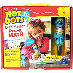 Hot Dots Jr. Let's Master Pre-K Math Set with Ace Pen