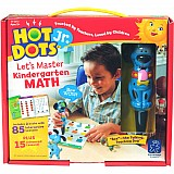 Hot Dots Jr. - Let's Master Kindergarten Math Set with Ace Pen