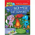 Hot Dots Jr. Story Books Ace  Kat GO Camping, Set of 6