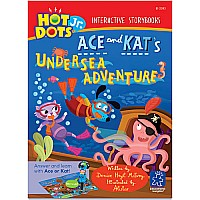 Hot Dots Jr. Interactive Storybooks Ace And Kat's Undersea Adventure, Set Of 6
