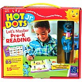 Hot Dots Jr. - Let's Master Pre-K Reading Set with Ace Pen