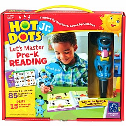 Hot Dots Jr. Let's Master Pre-K Reading Set with Ace Pen