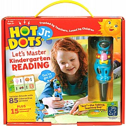 Hot Dots Jr. Let's Master Kindergarten Reading Set with Ace Pen