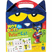 Hot Dots Jr. Pete the Cat - Kindergarten Rocks! Set with Pete Pen