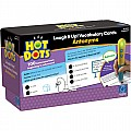 Hot Dots Laugh It Up! Antonyms Interactive Learning Cards
