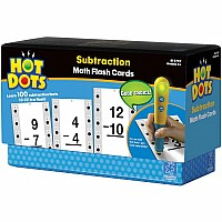Hot Dots Math Flash Cards  Subtraction
