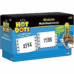 Hot Dots Math Flash Cards Division