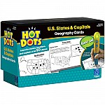 States  Capitals (Hot Dots Flash Cards)