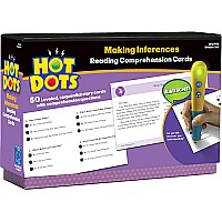 Hot Dots Reading Comprehension Making Inferences