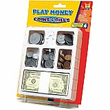 Play Money Coins & Bills Tray
