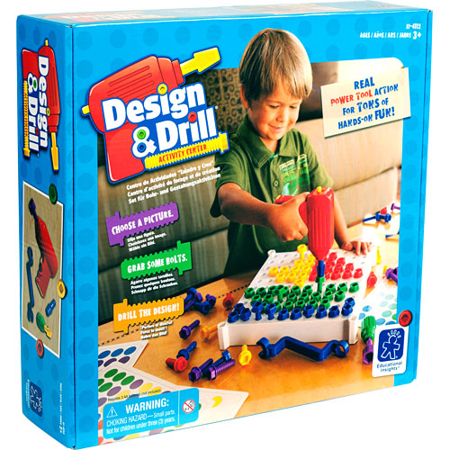 Design Drill Activity Center Kidoodles Toy Zone