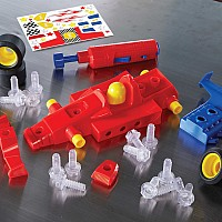 Design & Drill Power Play Vehicles - Race Car