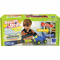 Design & Drill Power Play Vehicles - Monster Truck