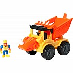 Dino Construction Company - Rocko the Styracosaurus Dump Truck Set