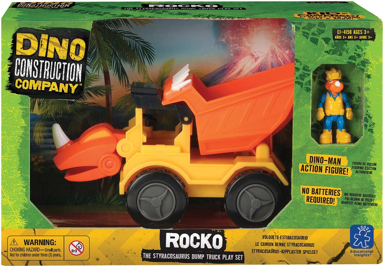 """Dino Construction Company Play Sets -""""Rocko"""" Styracosaurus ..."""
