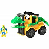 "Dino Construction Company Play Sets-""Snap"" Velociraptor Forklift"