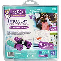 Nancy B's Science Club Binoculars & Wildlife Activity Journal